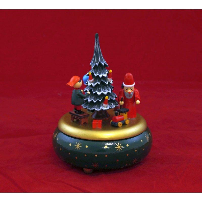 Spieluhr Weihnachten.Spieldose Bescherung Oh Tannenbaum Spieluhr Weihnachten