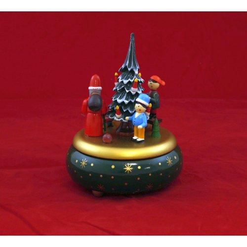 Fensterlicht Weihnachten.Spieldose Bescherung Oh Tannenbaum Spieluhr Weihnachten