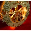 "LED Fensterbild 3D inkl. Trafo ""Seiffener..."