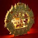 """LED Fensterbild 3D inkl. Trafo """"Waldmotiv""""..."""