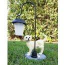 Wichtelstube-Kollektion Hund mit Laterne Solarlampe...