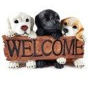 Wichtelstube-Kollektion Gartenhund Dekohund Hund für...