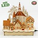 """LED Lichterhaus Weihnachtsdorf """"Stadt"""""""