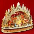 """LED Schwibbogen Oval """"Weihnachtsdorf""""..."""